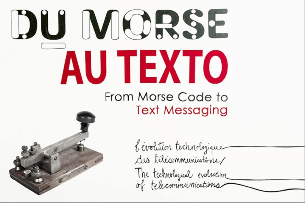 Du Morse au Texto