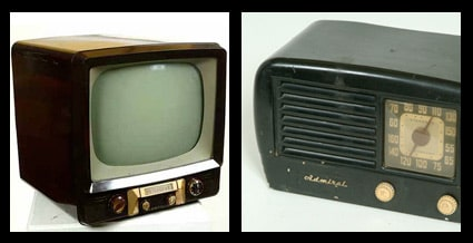La bakélite à l'ère de la télévision