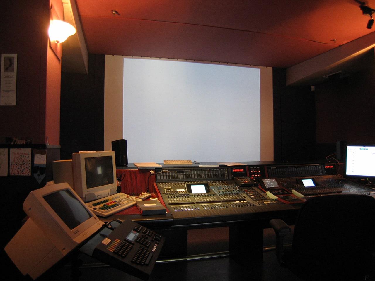 Sound recording for cinema